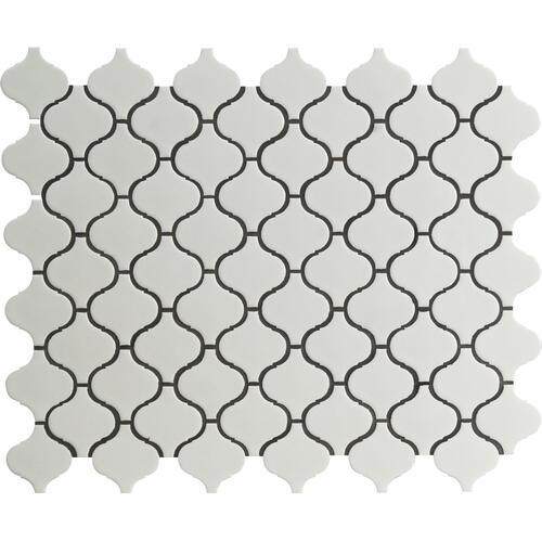 12 arabesque porcelain mosaic tile