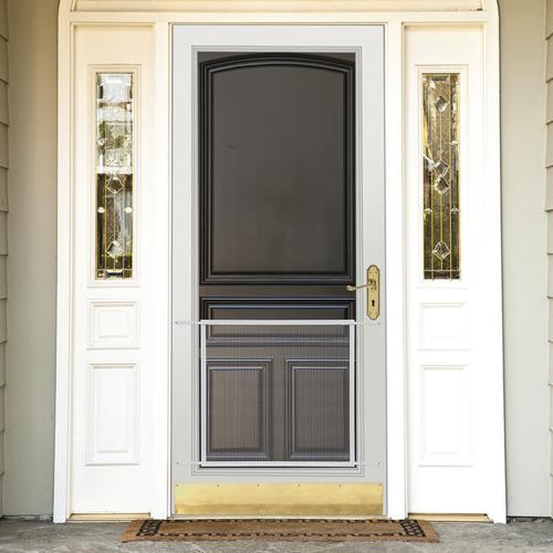 adfors 36 brown screen door grille