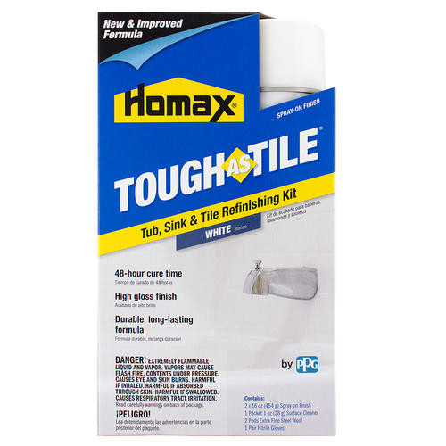 homax tough as tile tub sink tile