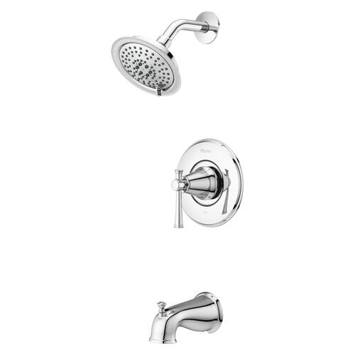 5 spray bathtub shower faucet