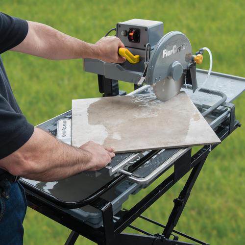florcraft 10 wet tile saw at menards