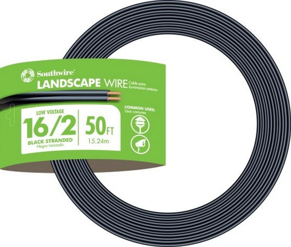 low voltage landscape lighting cable