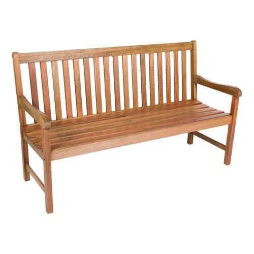 backyard creations wood patio bench at