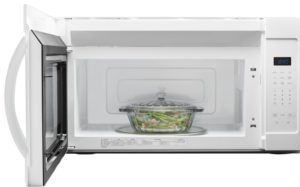 1 7 cu ft over the range microwave at