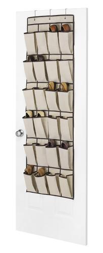 12 pair canvas over the door shoe
