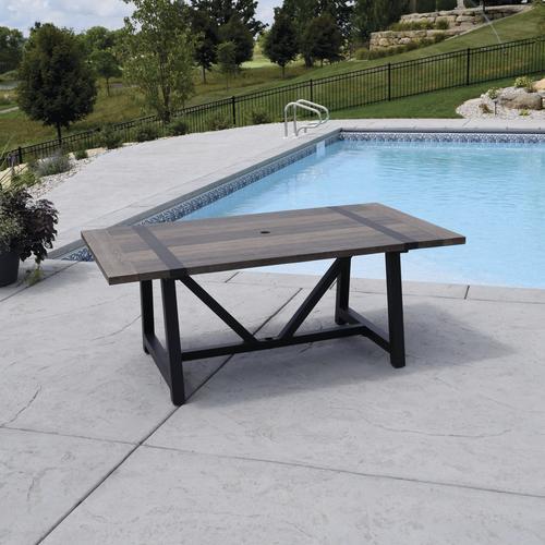 tanner falls rectangular dining patio
