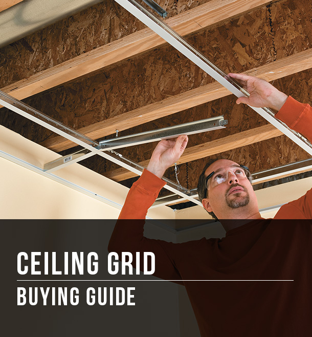 ceiling grid buying guide at menards