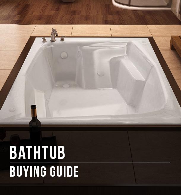 bathtub buying guide at menards