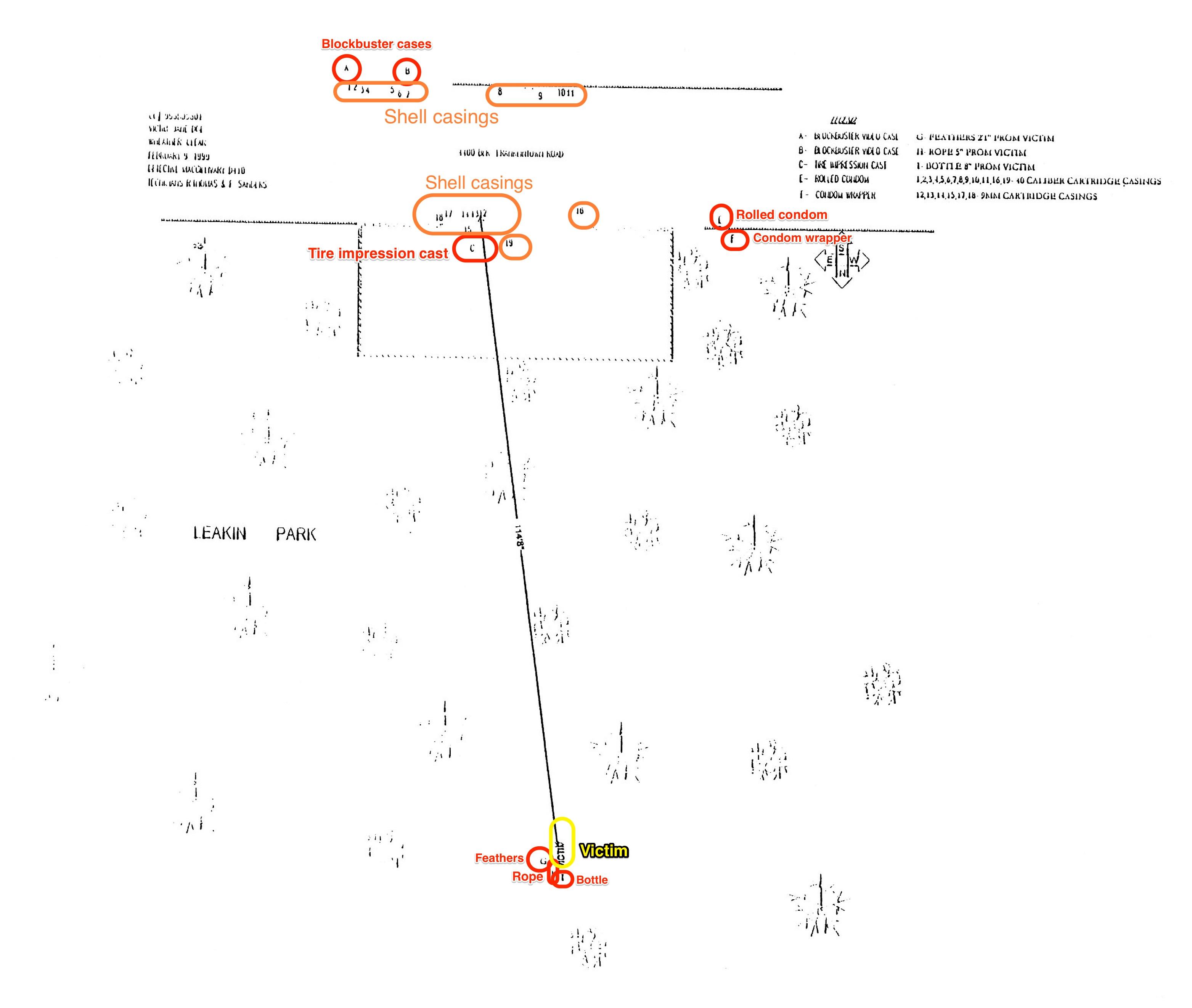 Park Map Worksheet