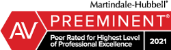 Attorneys of Hamel, Waxler, Allen & Collins have been awarded an A-V Peer Review rating by Martindale-Hubbell as Preeminent, which is the highest rating available.