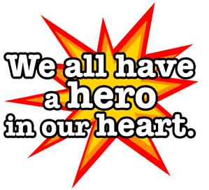 Hidden Hero badge