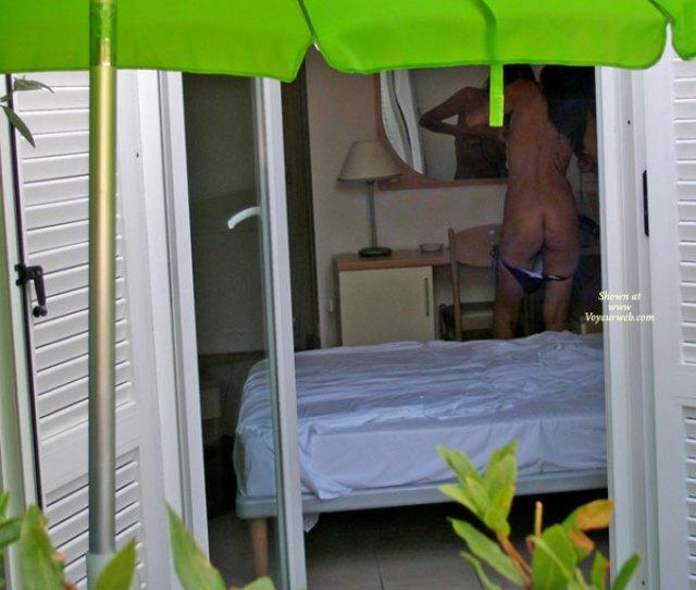 Neighbor Voyeur Naked Girl Nude Amateur Voyeur Dressing In Cabana A
