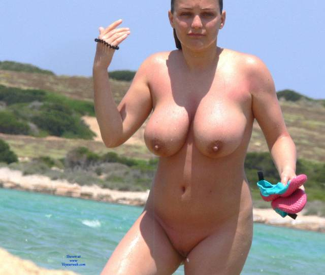Naked Boobs On Beach Video