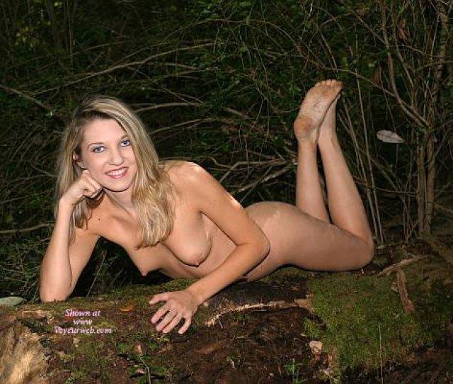 Nude Blonde With Dirty Feet Showing September  Voyeur Web