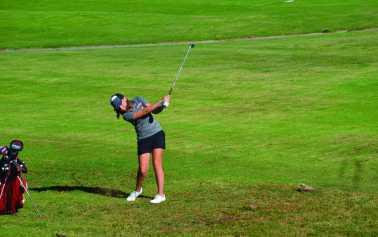 Josie Baker is a consistent top scorer for Girls' Golf