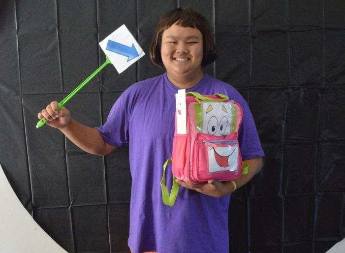 Students win Halloween costume contest