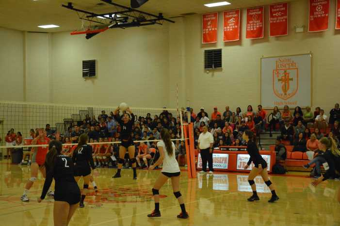 Girls' Volleyball wins 3-1 in first round CIF playoffs Tuesday