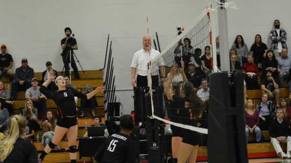 Girls' Volleyball falls in second round of CIF Playoffs