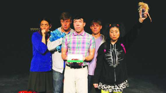 Actors perform one-act play