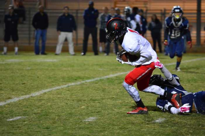 Football defeats Mayfair 13-12 in the first round of CIF-SS playoffs