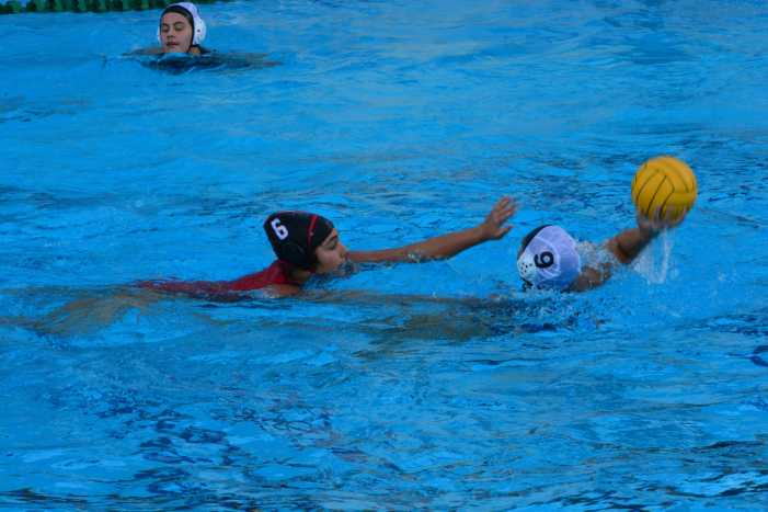 Girls' water polo wins season opener