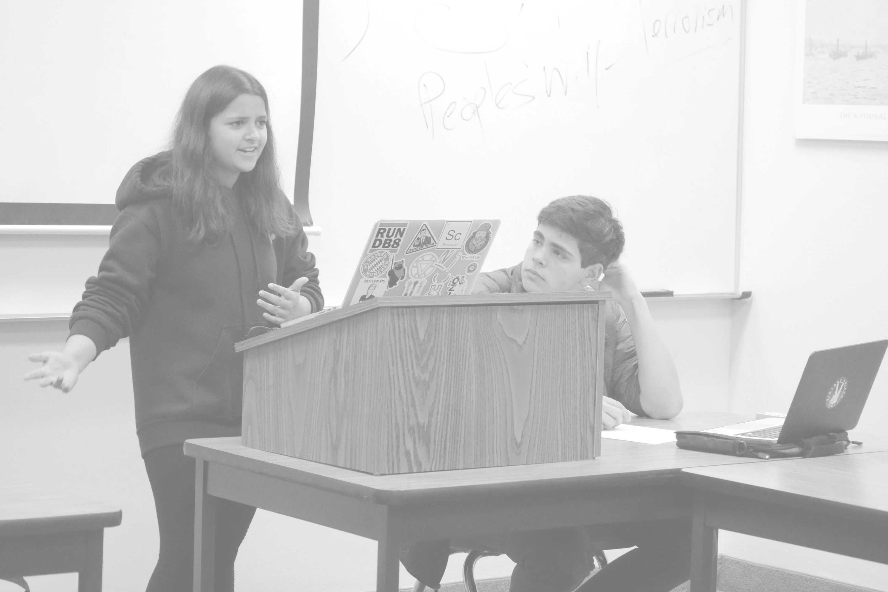 debate GRAYSCALE