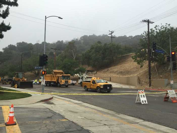 Coldwater Canyon closed, AP exams delayed an hour
