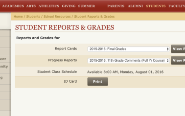 Giving a grade to grade transparency