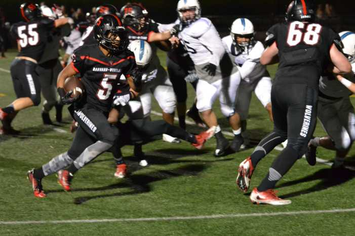 Football falls to St. Paul on Homecoming night