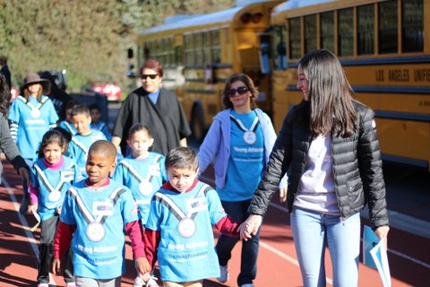 School hosts Special Olympics event for preschoolers