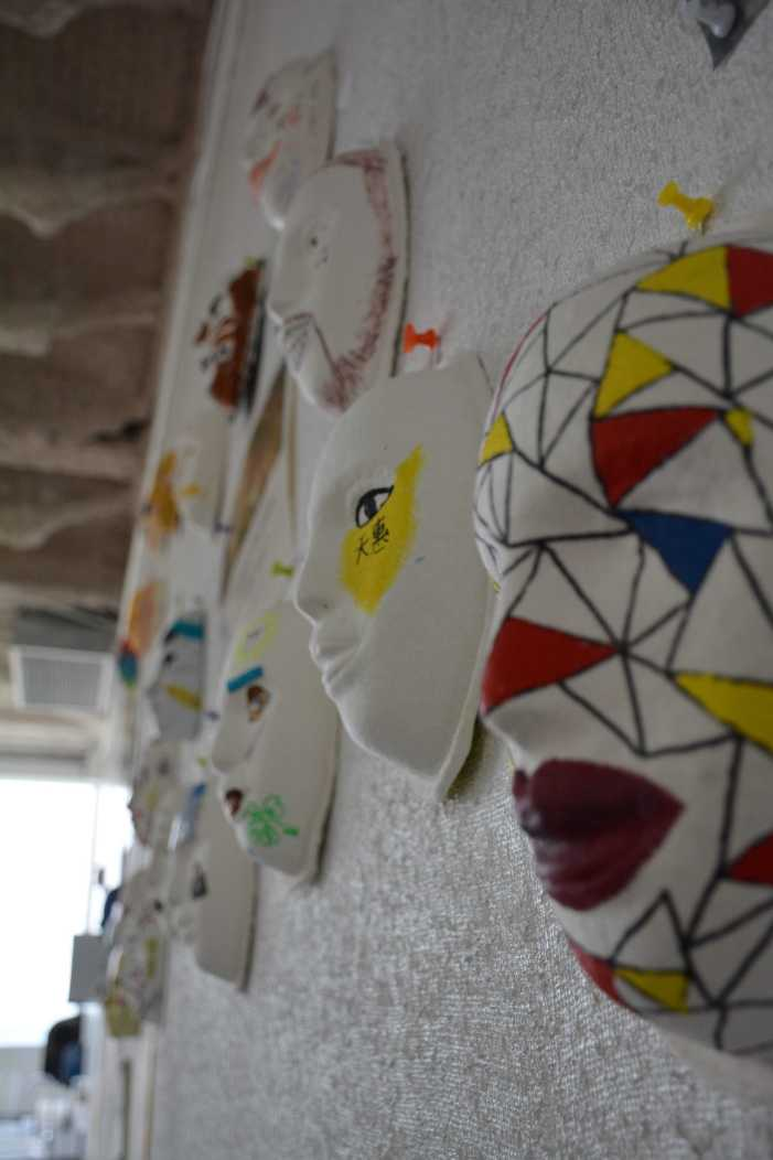 Psychology students to display masks