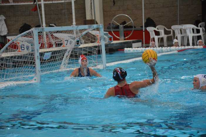 Girls' Water Polo secures win in first league game of the season