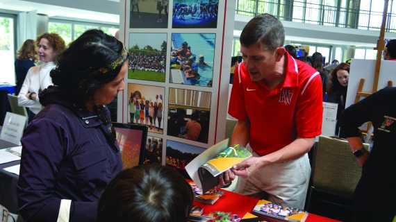 Faculty members promote school's summer programs