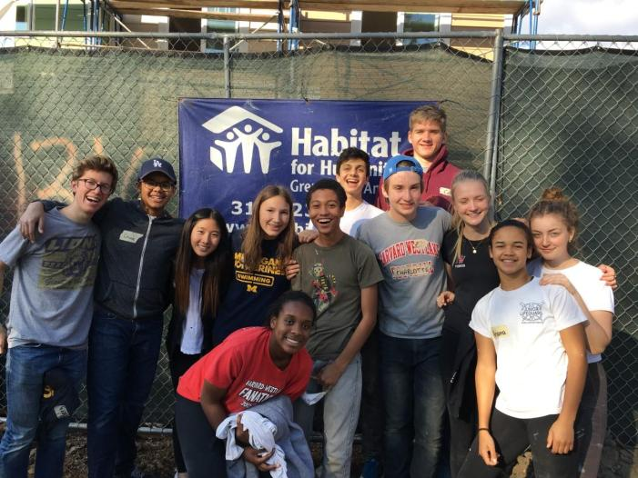 Habitat for Humanity goes on year's first build trip