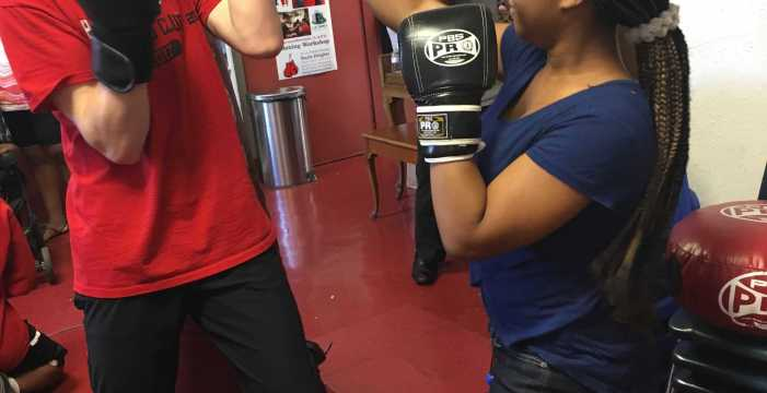 Put your dukes up: boxing club teaches self-defense