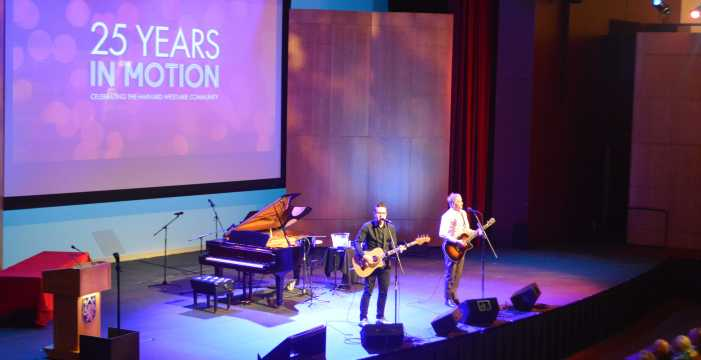 Celebration marks 25th anniversary of first merged graduating class