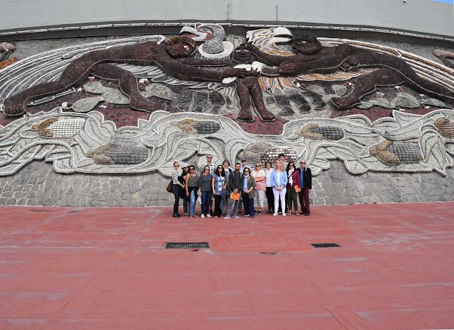 Faculty traveled to Mexico over break
