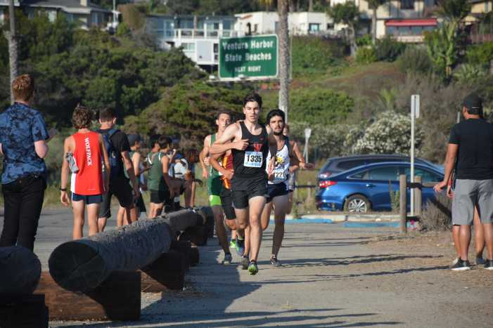 Cross country runs at Seaside Invitational