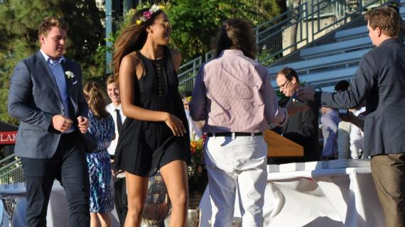 Seniors attend annual Ring Ceremony