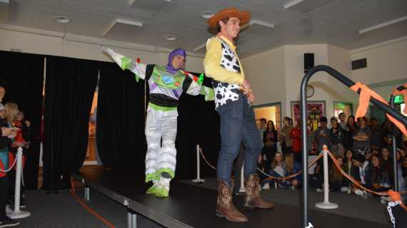 Students compete in Halloween costume contest