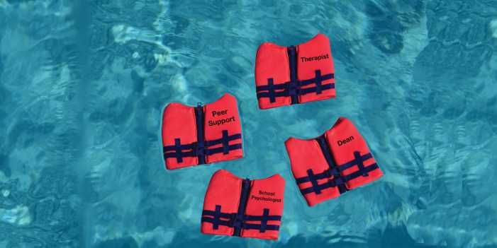 Staying Afloat: Seeking mental health resources on and off campus