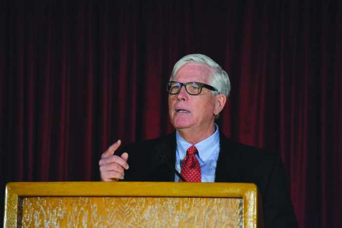 Conservative pundit Hugh Hewitt discusses book, 'The Happiest Life'