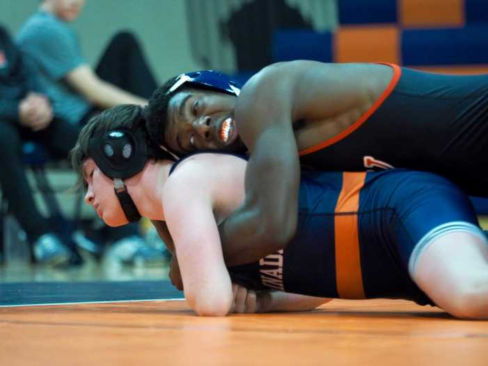 Wrestling loses second league match