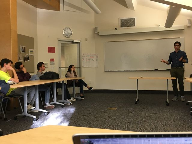 Founder of HW Inc. speaks to students about cryptocurrency
