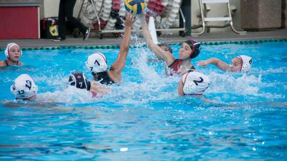 Water polo wins blowout senior night game