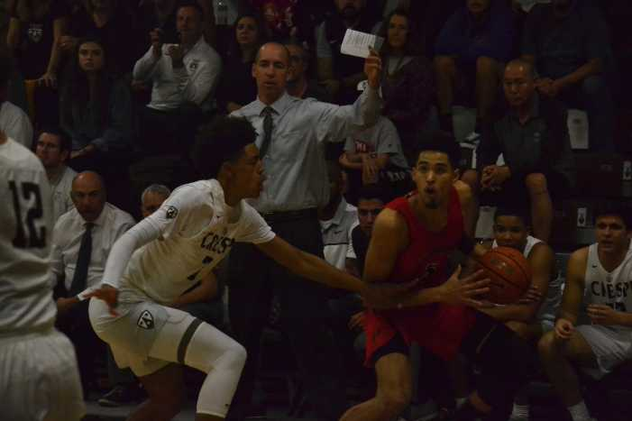 Boys' basketball falls to Crespi
