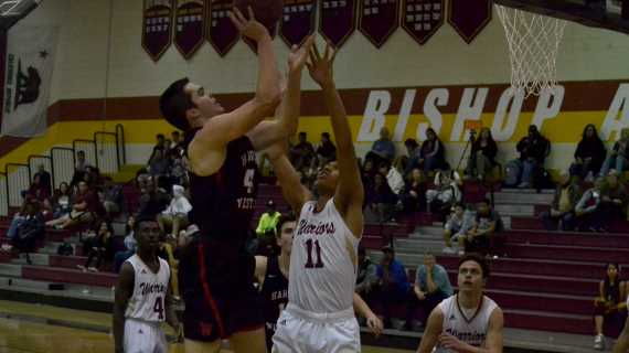 Boys' basketball falls to Alemany in overtime