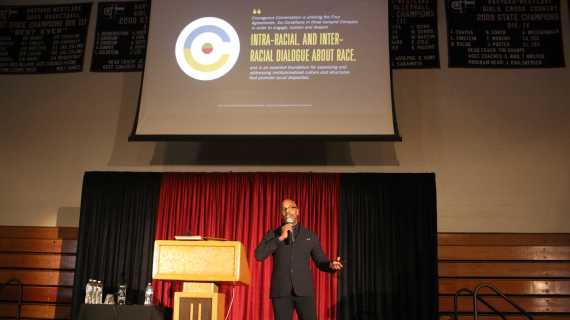 Glenn Singleton advises community to engage in conversations about race