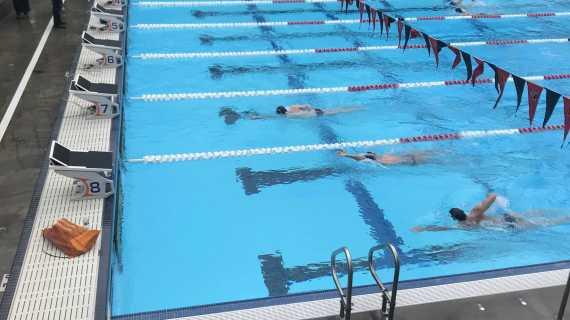 Boys' swim beats St. Francis