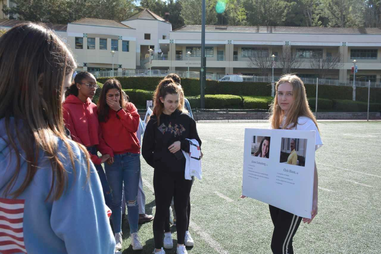 Students, teachers say 'Never Again'